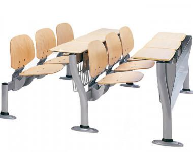 Складные кресла со столами для учебных заведений Deko Copernico