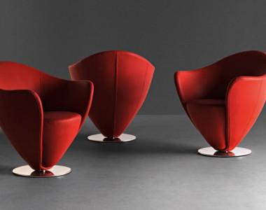 Мягкая мебель для зон ожидания La Cividina Mon Petit Coeur