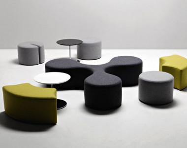 Мягкая мебель для зон ожидания La Cividina Molecule