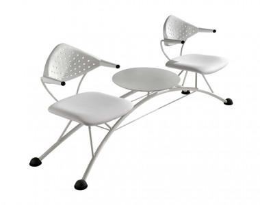 Кресла для зон ожидания TCC Domino interlocutoria