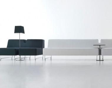 Мягкая мебель для зон ожидания Sancal 1+1